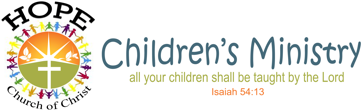 Hope Children's Ministry Logo